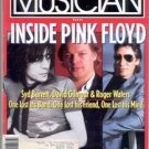 FEB 1991 PINK FLOYD MUSICIAN MAGAZINE GILMOUR WATERS