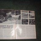 1967 FORD CORTINA GT OPEL KADETT RALLYE ROAD TEST AD