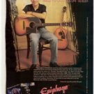 PETER FRAMPTON EPIPHONE TEXAN AJ-30CE  PROMO AD 1998