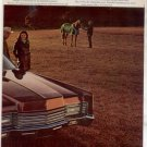 1970 LINCOLN CONTINENTAL VINTAGE CAR AD 2-PAGE