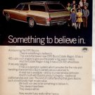 1970 BUICK ESTATE WAGON CAR AD