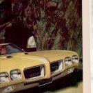 1970 PONTIAC GTO MOVE OVER MOUNTAIN CAR AD 2-PAGE