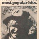 JOHN DENVER GREATEST HITS PROMO AD 1973