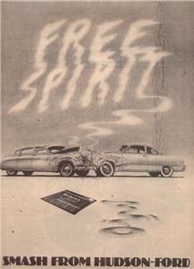 1974 HUDSON-FORD FREE SPIRIT POSTER TYPE AD