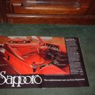 1978 1979 PLYMOUTH SAPPORO VINTAGE CAR AD 2-PAGE