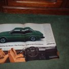 1978 1979 FIAT BRAVA VINTAGE CAR AD 2-PAGE