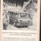 * 1964 FALCON DELUXE CLUB WAGON PHOTO PRINT AD