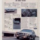 1984 FORD THUNDERBIRD TURBO COUPE VINTAGE CAR AD