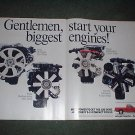 1989 CHEVY S-10 S 10 VINTAGE CAR TRUCK AD 2 PAGE