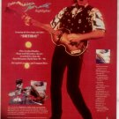 1991 PAUL MCCARTNEY  BEATLES WORLD TOUR AD