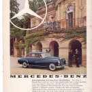 * 1960 MERCEDES BENZ VINTAGE CAR AD