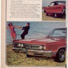 1967 CHRYSLER NEWPORT VINTAGE CAR AD 2-PAGE