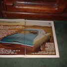 1968 BUICK GS 400 VINTAGE CAR AD 2-PAGE