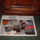 1967 GS 400 CHEVELLE 442 PONTIAC GTO VINTAGE CAR AD