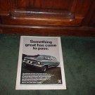 1967 1968 BUICK OPEL RALLYE VINTAGE CAR AD