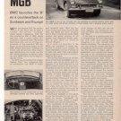 1962 MGB ROAD TEST CAR AD