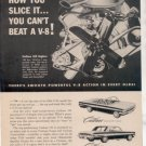 1962 1963 OLDSMOBILE CUTLASS VINTAGE CAR AD