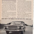 1962 1963 DODGE DART 440 VINTAGE CAR AD
