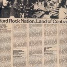 1975 LYNYRD SKYNYRD PERFORMANCE ARTICLE ADVERT AD