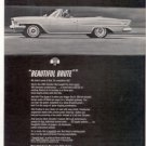 1962 1963 CHRYSLER 300-H 300H 300 H CAR AD