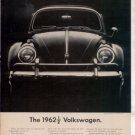 1962 1963 VOLKSWAGEN VINTAGE CAR AD