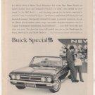 1962 BUICK SPECIAL VINTAGE CAR AD