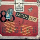 1980 EAGLES LIVE POSTER TYPE AD