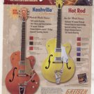 * BRIAN SETZER GRETSCH HOT ROD GUITAR AD