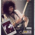 * BRIAN MAY QUEEN KORG TUNER AD