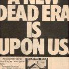 GRATEFUL DEAD LP PROMO AD TERRAPIN STATION 1977