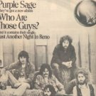NEW RIDERS OF THE PURPLE SAGE PROMO AD 1977
