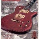 CARVIN SC90S GUITAR AD 1998
