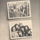 LYNYRD SKYNYRD FIRST AND LAST POSTER TYPE PROMO AD 1978