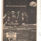 1976 BLUE OYSTER CULT AGENTS OF FORTUNE PROMO AD