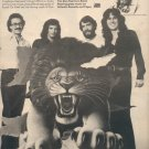 * 1976 THE DON HARRISON BAND POSTER TYPE AD