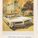 1966 PONTIAC GRAND PRIX VINTAGE CAR AD