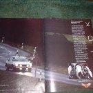 1984 1985 BUICK ELECTRA VINTAGE CAR AD 2-PAGE