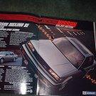 1984 1985 NISSAN MAXIMA SE VINTAGE CAR AD 2-PAGE