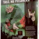 CHRISTIAN OLDE WOLBERS FEAR FACTORY JACKSON GUITAR AD