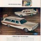 1966 MERCURY COLONY PARK COMET VILLAGER WAGON CAR AD