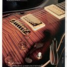 PRS PAUL REED SMITH GUITAR AD THE McCARTY ARCHTOP 1998