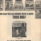 TEXAS POSTER TYPE PROMO AD 1973
