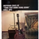 GIBSON  AD 1998 INSPIRING CRIES OF