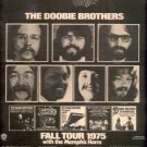 THE DOOBIE BROTHERS POSTER TYPE TOUR AD 1975