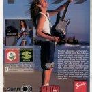 * 1999 GARY HOEY FENDER GUITAR AD