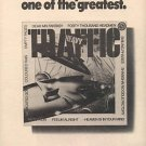 TRAFFIC HEAVY POSTER TYPE PROMO AD 1975