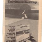 1976 THE ALLMAN BROTHERS BAND GREATEST POSTER TYPE AD