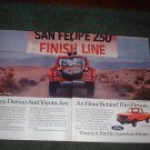 1982 FORD RANGER TRUCK AD 2-PAGE