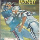 * 1978 SPORTS ILLUSTRATED BRUTALITY CRISIS IN FOOTBALL