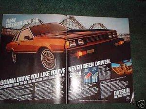 1980 DATSUN 200 -SX  CAR AD